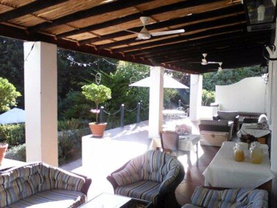 Vredenburg Manor House: Pool Terrace