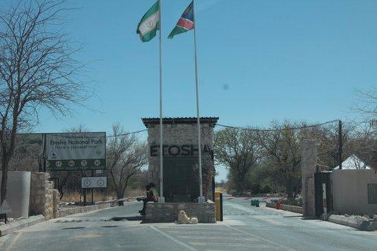 Etosha National Park - Etosha - Anderson Gate entrance