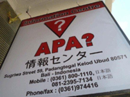 APA Information Centre - Day Tour