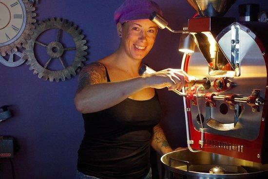 Bressuire, Francia: Le torréfaction de café est en route