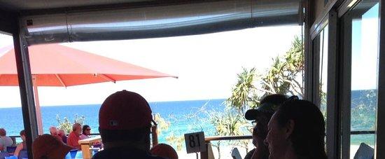 Sunshine Beach, Australia: The view from inside, even better outside
