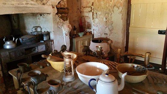 Goomalling, Australia: original kitchen - part of museum