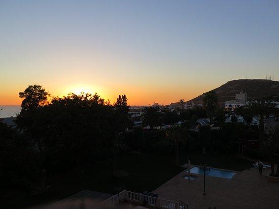 Coucher de soleil vu du balcon de la chambre picture of for La chambre a coucher