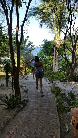 PD Resort: path to the beach