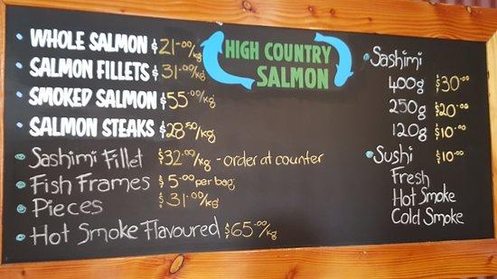 Twizel, نيوزيلندا: Salmon Farm