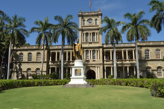 HAWAII 5 0 HEADQUARTERS Picture of Ali iolani Hale Honolulu