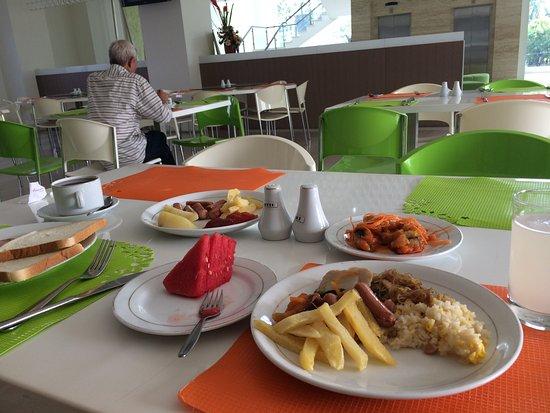 Everbright Hotel: Menu makan pagi