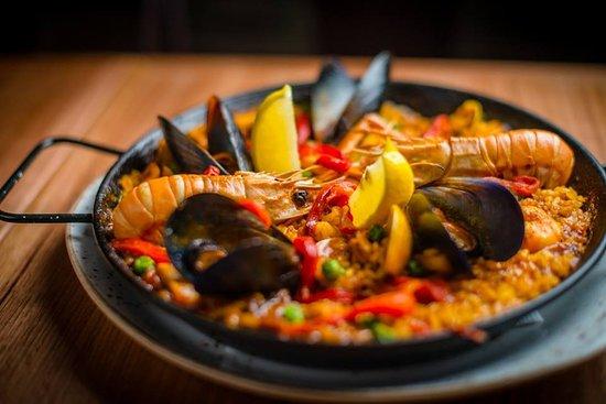 Thornbury, Australia: Seafood Paella