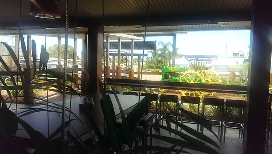 Mareeba, Australia: From the outdoor eating area