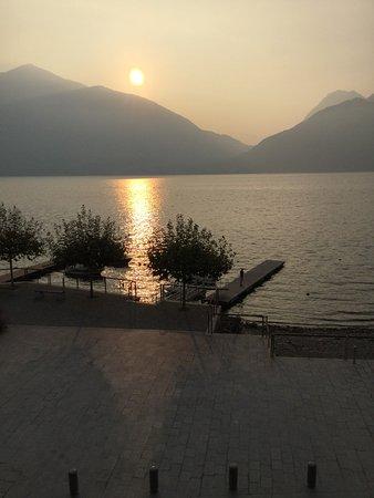 San Siro, Italia: Dock on Lake Como