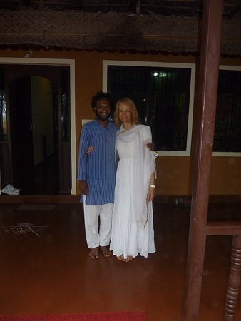 Ayurveda Yoga Villa: the reception with VINEESH