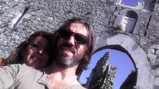 Alvito, Italy: selfie!!!
