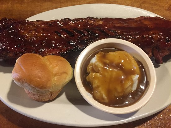 Dana, IN: Full rack of our succulent slow coocked and smoked ribs