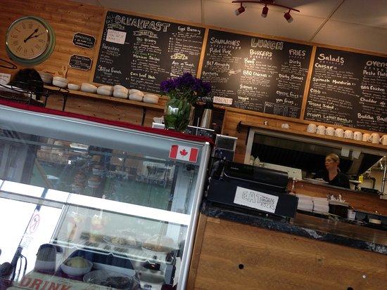 Vernon, Canada: Mostrador