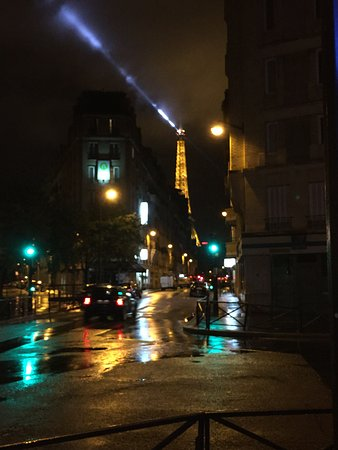 Eiffel Saint Charles: View from just outside of the hotel!
