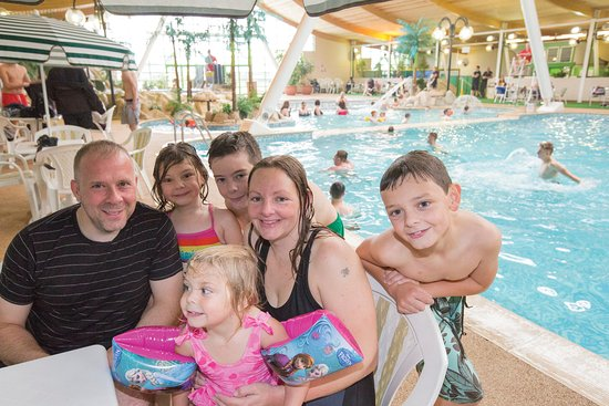 Indoor Tropical Water World At Vauxhall Holiday Park Picture Of