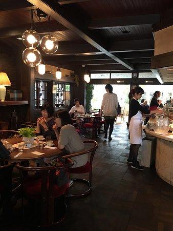 宝ヶ池のオシャレなカフェレストラン