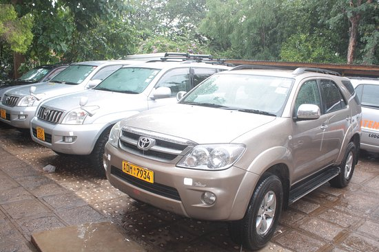 Tatenda Safaris Lodge: car hire