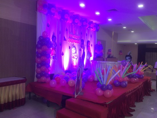 nk grand park hotel banquet hall stage decoration