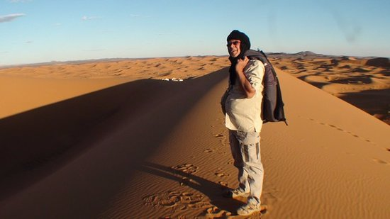 Palais des dunes: Une impression de solitude !