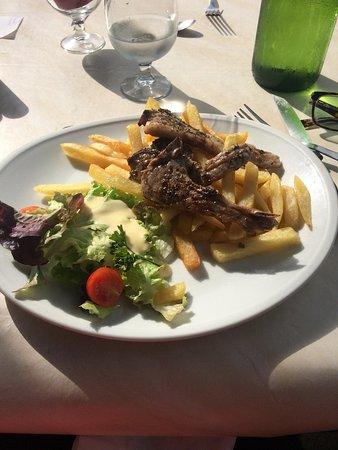 La Tannerie : Côtelettes d'agneau