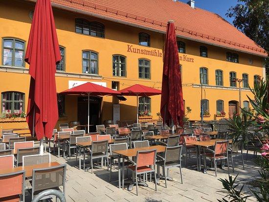 Restaurant Picture Of Hotel Kunstmuehle Mindelheim Tripadvisor