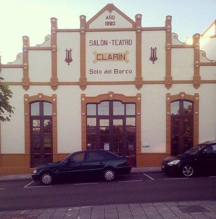 Soto del Barco, Spain: Teatro Clarín