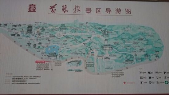Map Picture of Yellow Crane Tower Wuhan TripAdvisor