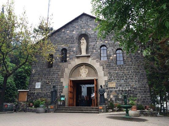 Templo Maternidad de Maria