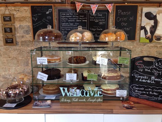 Seale, UK: Beautiful converted cow shed, serving lovely home made food and cakes!