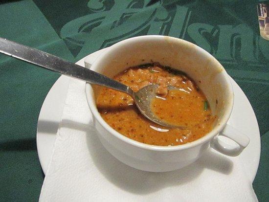 U Broncu: Excellent tripe soup for those who crave for it