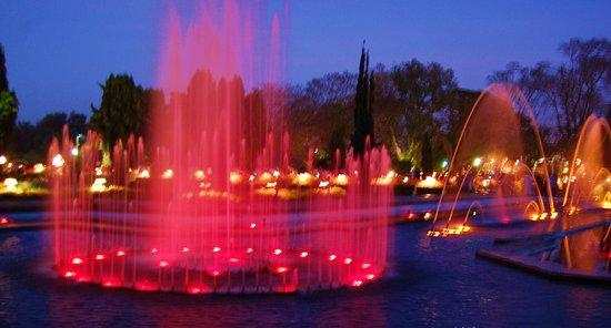 Brindavan Garden: park fountain