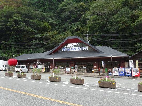 Shiso, Japan: 道の駅 はが