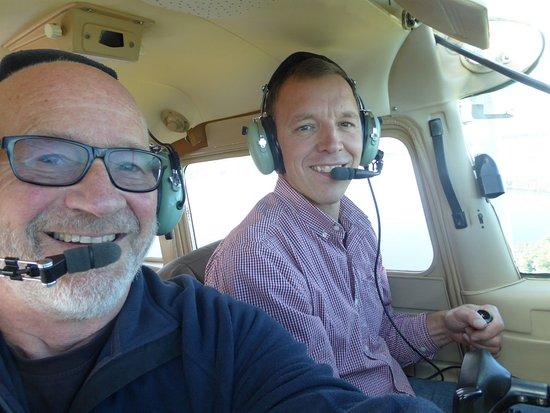 Naples, Μέιν: Matt the pilot and me