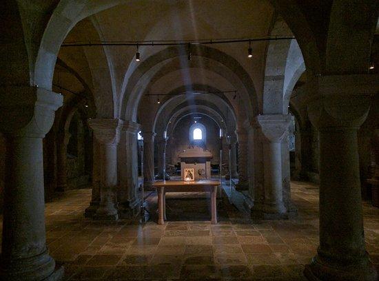 Lund, Suecia: Crypt