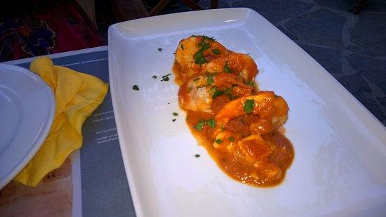 Marco Polo Cafe: Shrimp saganaki