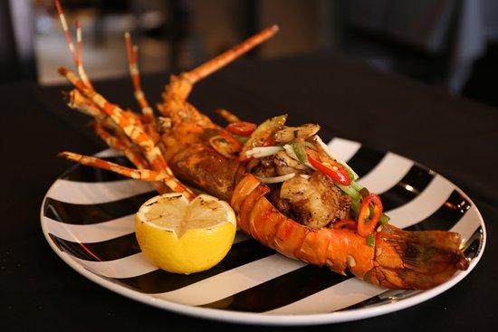 Two Chefs Kata Beach : Hong Kong Style Lobster