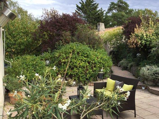 Quiet gardens picture of le jardin de la cite for Le jardin carcassonne
