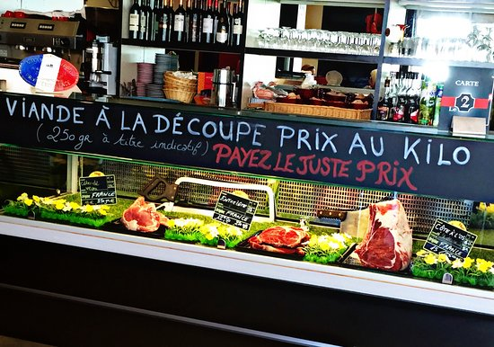 Le Passage, Francia: VIANDE A LA DECOUPE 100% ORIGINE FRANCE