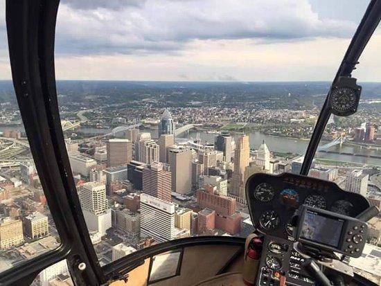 Batavia, OH: Cincinnati from the air!