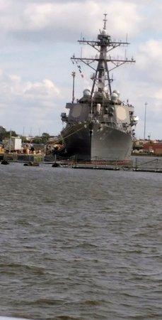Miss Hampton II Cruises: warship