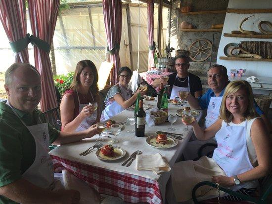 Villa Maria Hotel: Our lunch