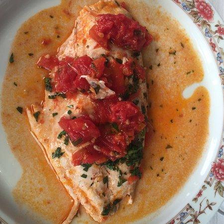 Villa Maria Hotel: our Pan Fried Fish