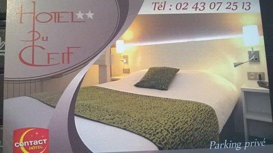 Hotel du Cerf: carte de visite