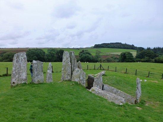 Creetown, UK: Ancient burial site.