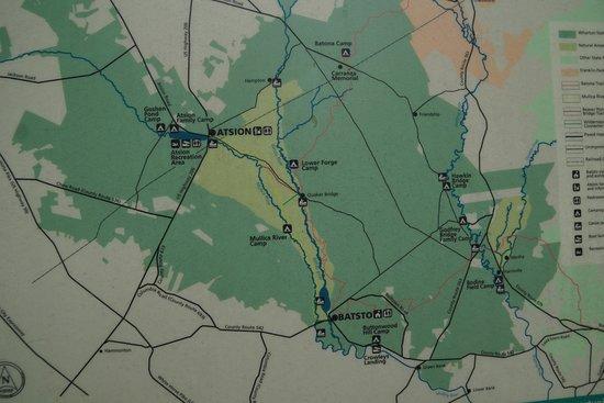 Hammonton, NJ: Hiking in the Wharton State Forrest