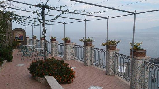 Domus San Vincenzo: Essa foto do terraço.
