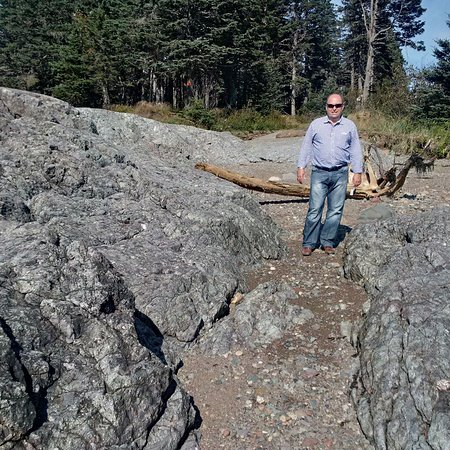 Blacks Harbour, Canada: Cool big rocks