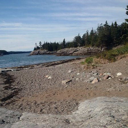 Blacks Harbour, Canadá: Not a soul around