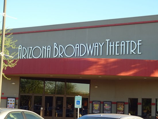 Arizona Broadway Theater: Theater entrance.